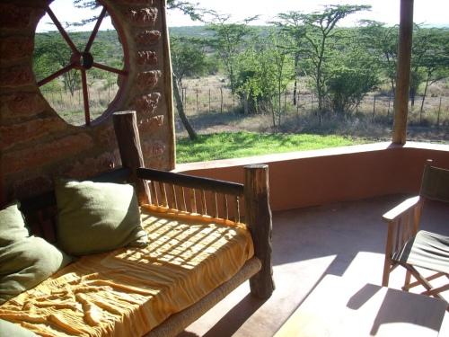 Sunny Veranda in Kenya