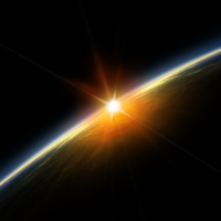 sunrisefromspace