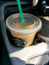 Iced coffee from Starbucks