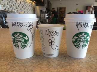 Starbucks Cups - The Finer Grinds by Aaron Aiken