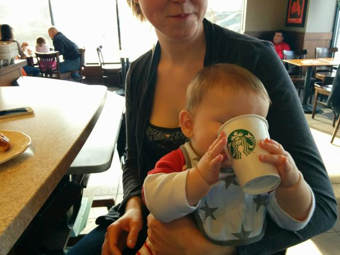 Mozzie Dean at Starbucks