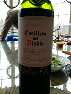 Bottle of wine - Casillero del Diablo